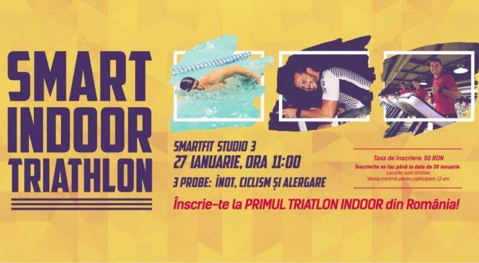 Timișoara premierelor: primul triatlon indoor din România
