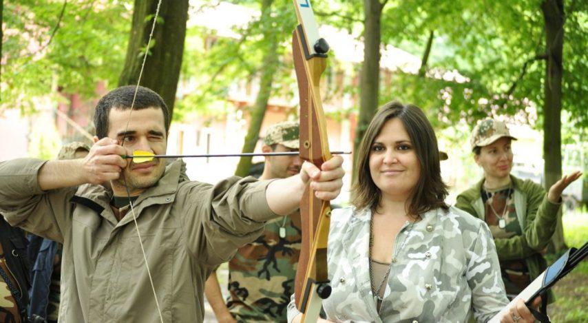 Pe când eram instructor de tir cu arcul