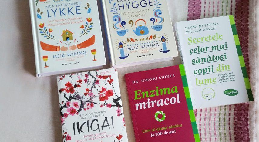 25 idei cu care am rămas din 5 cărți de wellbeing