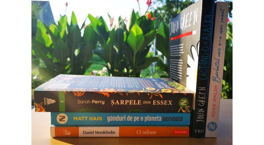 Care au fost cărțile lunii iulie pentru mine? Plus un concurs