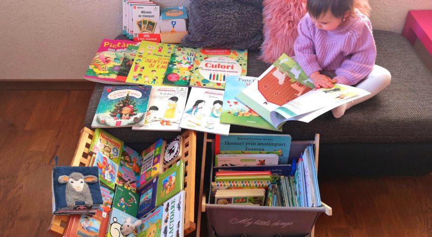 Recomandări de cărți pentru bebeluși și pentru copii până în 2 ani